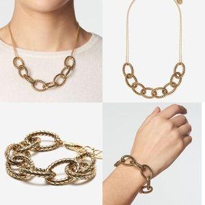Etienne Aigner bracelet Necklace set
